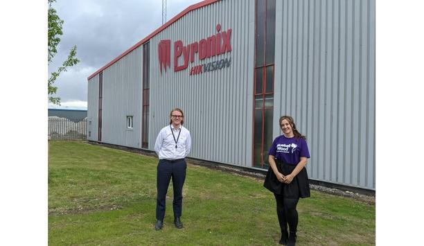 Pyronix provides funding and support for Bluebell Wood Children's Hospice summer initiative