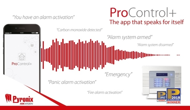Pyronix ProControl+ boast voice push notification and video verification for comprehensive security