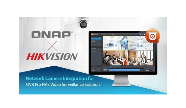 QNAP integrates Hikvision H.265 network cameras to enhance IP surveillance solutions