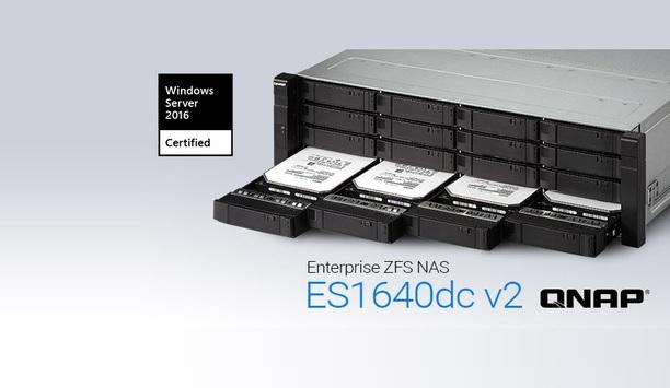 QNAP's Enterprise ZFS NAS certified for Windows Server 2016
