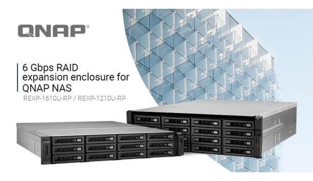 QNAP Releases New 6 Gbps Expansion Enclosures REXP-1610U-RP/REXP-1210U-RP For QNAP NAS