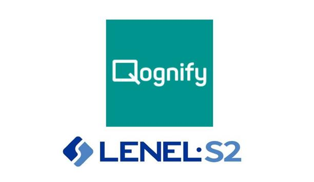 Qognify Attains LenelS2 Factory Certification And Joins Their OpenAccess Alliance Program