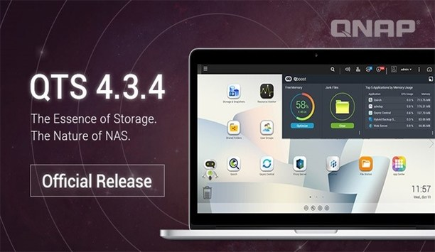 QNAP Systems releases QTS 4.3.4 storage update