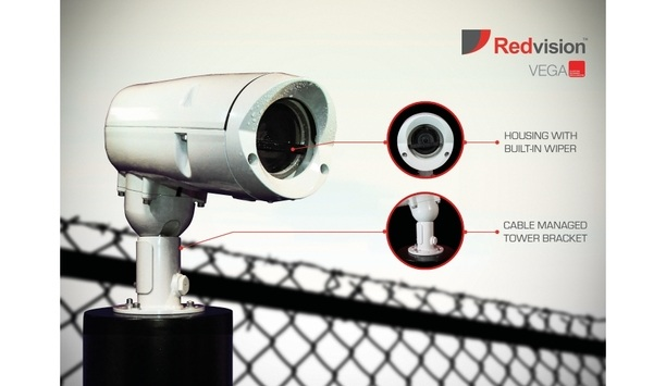 Redvision introduces VEGA 2010 rugged camera housing with PoE-driven wiper option