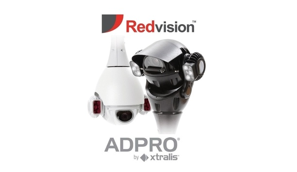 Redvision's X-Series rugged PTZ domes integrate with the Xtralis ADPRO XOa software platform