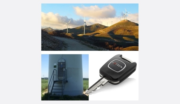 Renvico chooses the LOCKEN access control solution to secure wind farms