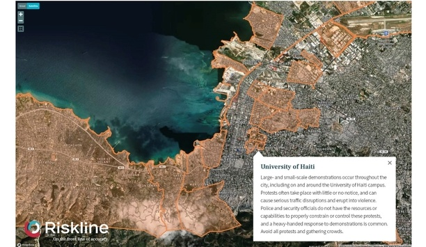 Riskline expands City Safety Maps collection to cover 150 cities worldwide