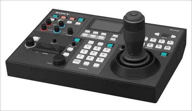 Sony introduces RM-IP500 remote controller to deliver greater flexibility and easier operation of PTZ cameras