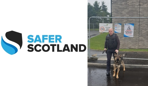 Safer Scotland enhances security at a West Lothian site with canine capability to deter intruders