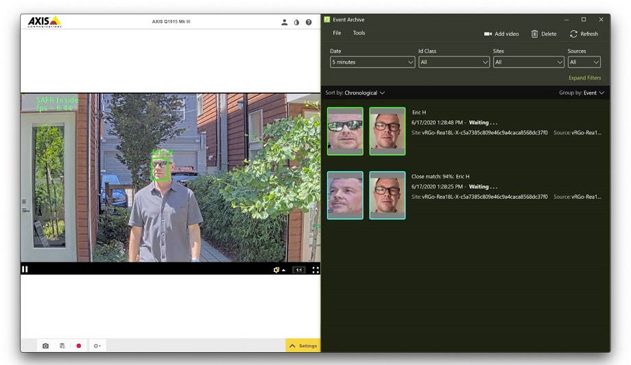 RealNetworks Inc. announces SAFR® Inside app component of Facial Recognition and Computer Vision Platform