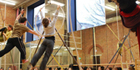 SALTO RFID electronic access control solution installed at Circus training school in the UK