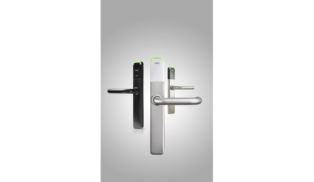 SALTO XS4 One escutcheon is a standalone electronic lock with comprehensive RFID capability