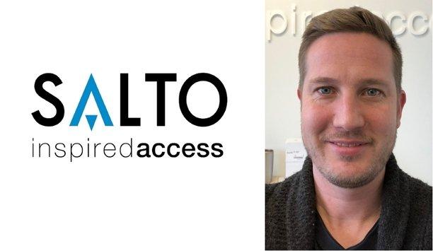 SALTO Systems appoints Jordan Blatchley as Business Development Associate for New York