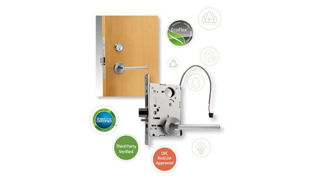 ASSA ABLOY SARGENT EcoFlex® Technology electrified mortise lock achieves Living Product Challenge certification