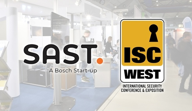 Bosch Start-up SAST To Exhibit At ISC West 2019 For The First Time