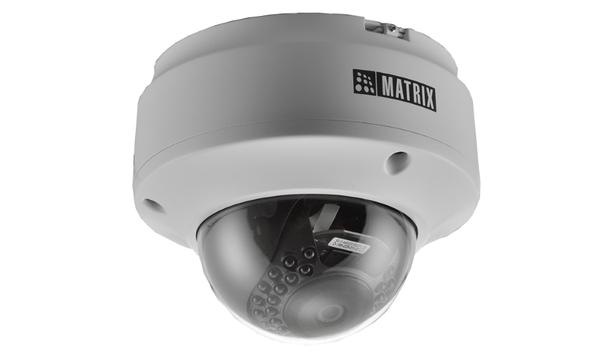 Matrix's SATATYA CIDR20FL36CWP IP Cameras use Sony STARVIS Series Sensor for low-light surveillance