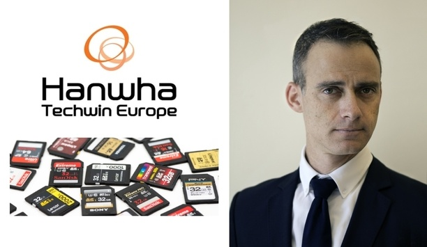 Hanwha Techwin highlights the importance of SD cards in the video surveillance industry