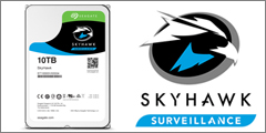 Seagate introduces SkyHawk Surveillance Drives With New 10 TB Capacity