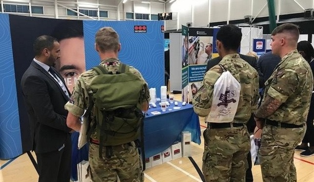 Securitas attends British Forces Resettlement Services (BFRS) careers fair in Aldershot