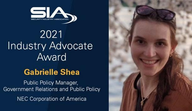 SIA recognises Gabrielle Shea as the 2021 recipient of the Industry Advocate Award