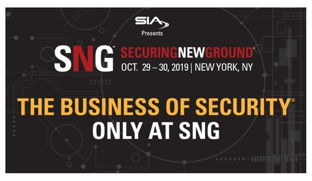 Security Industry Association Announces Keynote And Featured Speakers For Securing New Ground 2019
