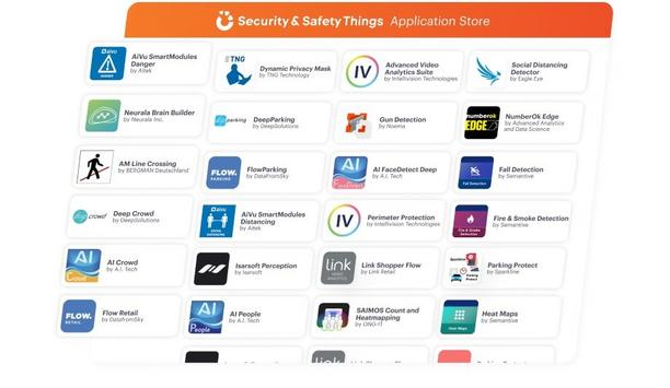 Security and Safety Things GmbH now offers hundred unique video analytic applications in their application store