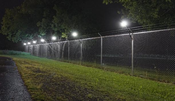 Senstar LM100 intrusion detection and deterrence system pairs market-leading perimeter security technology