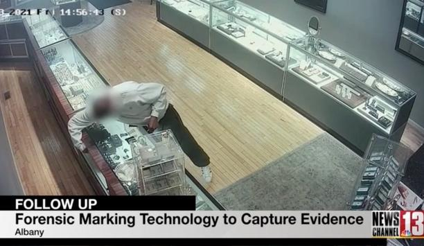 Shepherd Communication uses synthetic forensic technology to identify crime at Truman Jewelers