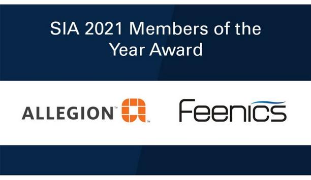 Security Industry Association Names Allegion And Feenics As 2021 SIA Member Of The Year