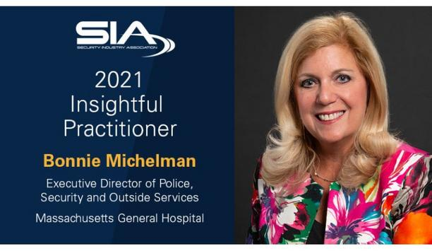 Security Industry Association announces Bonnie Michelman as the recipient of the 2021 SIA Insightful Practitioner Award