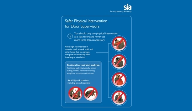 SIA and Thames Valley Police promotes safer physical intervention to improve students' safety