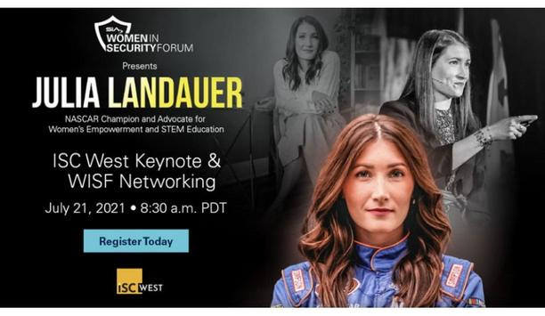 Security Industry Association announces Women in Security Forum Keynote at ISC West 2021, featuring NASCAR racer - Julia Landauer