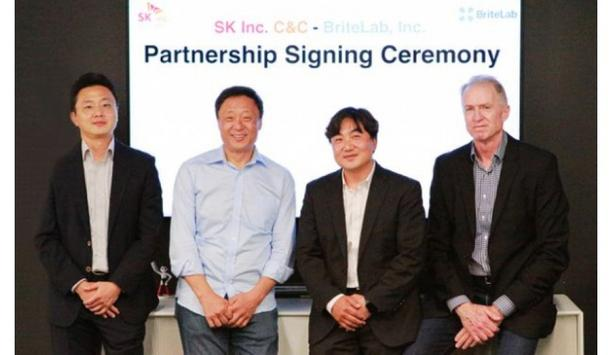 SK Inc. C&C and BriteLab sign partnership agreement to collaborate on joint development of US global manufacturing high-tech business