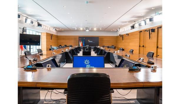 Smart Choice Audiovisuais installs Bosch's Dicentis conferencing and interpretation system at the Portuguese EU Presidency Headquarters