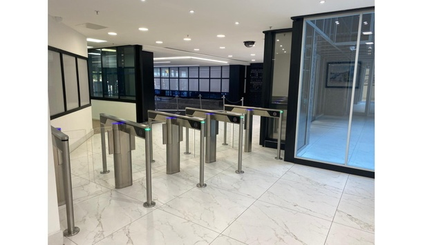 Smart R Distribution upgrades access control systems at Northern & Shell Building to enhance public security