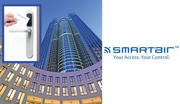 Frankfurt's Tower 185 Skyscraper Chooses TESA Flexible Wireless Access Control Over Mechanical Keys