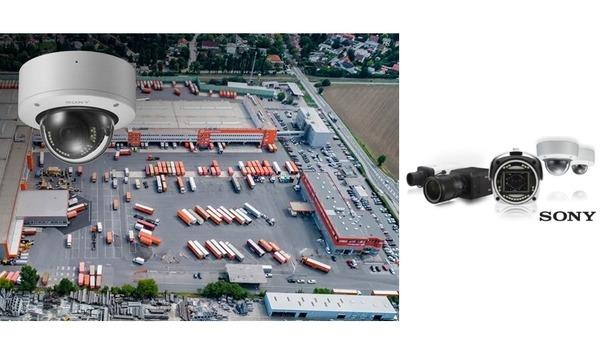 Sony 4K video security cameras monitor logistics centers of Gebrüder Weiss