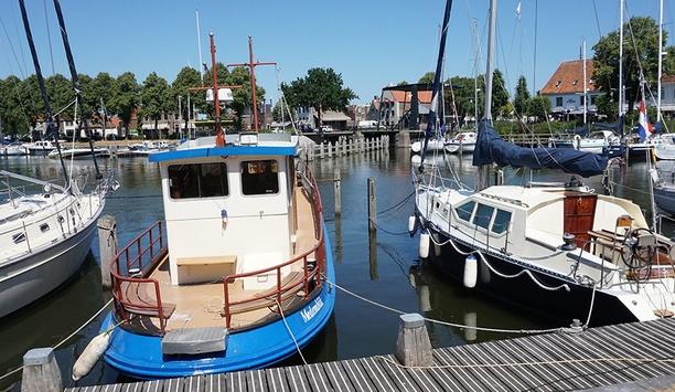 IDIS safeguards Stadshavens Medemblik ports by providing video surveillance solutions
