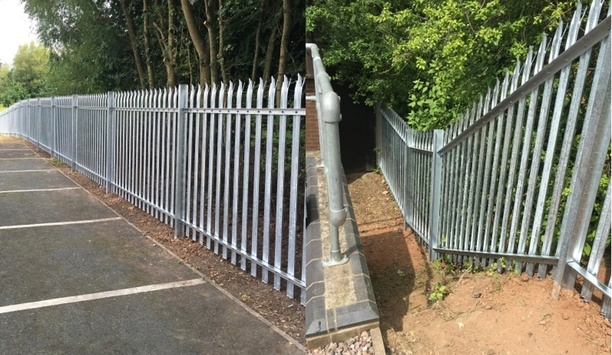 Steelway Fensecure's Palisade Fencing offers a strong physical barrier for efficient perimeter protection
