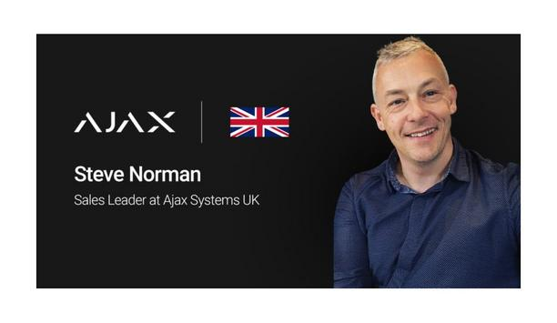 Ajax Systems Appoints Steve Norman As The Sales Leader To Expand Presence In UK Market