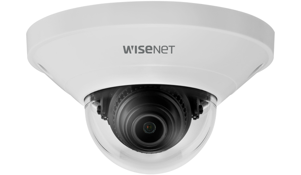 Hanwha Techwin's Wisenet Q mini dome cameras for retail applications
