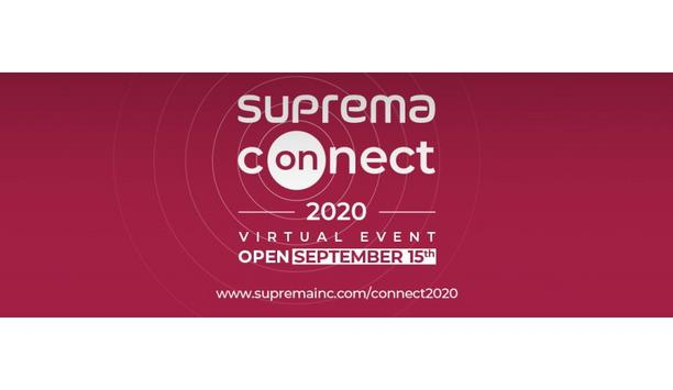 Suprema announces the commencement date of its first virtual event, Suprema Connect 2020