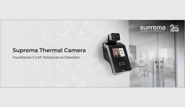 Suprema unveils its thermal camera that integrates with FaceStation 2 to detect individuals with elevated skin temperature