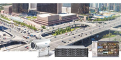 Surveon network cameras and VMS city surveillance solutions deter terrorist attacks and crime