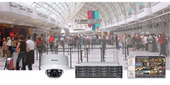 Surveon airport solutions ensure high level security from check-in areas to runways