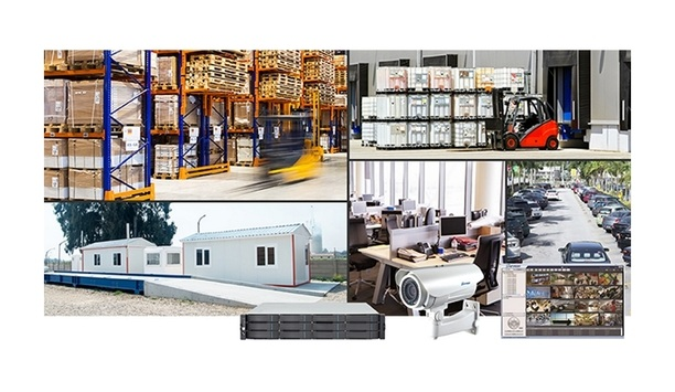 Surveon logistics solutions provide security for warehouses and distribution centres