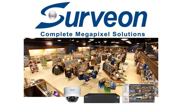 Surveon's integrated surveillance system turn retail store security into profitability
