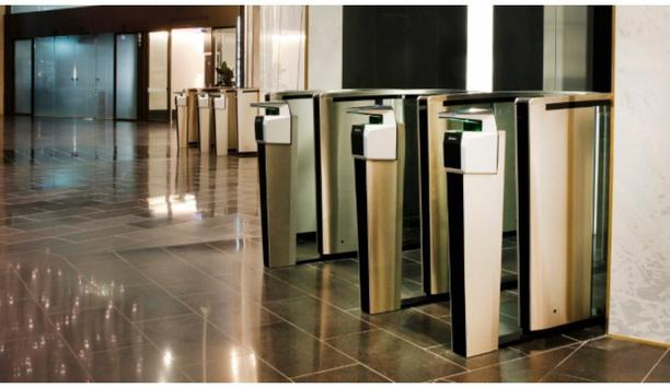 Sydney's Gateway Building integrates Boon Edam Turnstiles with IDEMIA's MorphoWave touchless scanners and Honeywell access control