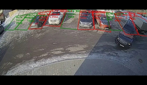 Synesis launches a high precision AI solution to count the actual capacity of parking spaces in real time