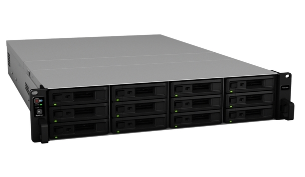 Synology's RackStation RS3618xs network attached storage server enhances business data security